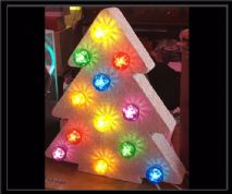 Christmas Tree Bulb Sign